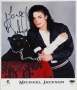 """Black Or White Promotional """"Panther"""" Photo Signed By Michael #2 (1991)"""