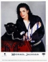 """Black Or White Promotional """"Panther"""" Photo Signed By Michael #1 (1991)"""