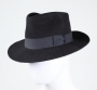 Black Wool Fedora Signed By Michael #2