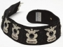 "Black ""Police Captain"" Satin Belt (1992)"