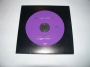 Blood On The Dance Floor Promo (1 Track) *Purple* CD Single In Die-cut Sleeve (Australia)