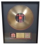 Blood On The Dance Floor RIAA Gold Award For The Sale Of 500,000 Copies Of The LP In USA