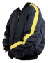 Blue Bomber Style Jacket With Yellow Stripes Worn By Michael Jackson (1999)