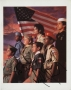 Boy Scout Humanitarian Award Program Signed By Michael (1990)