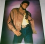 Brown Leather Jacket Unofficial Commercial Poster *Purple Background* (USA)