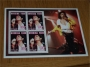 "Burkina Faso ""Les Annees Showbizz""  Michael jackson Souvenir stamp sheet"