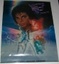 Captain EO 2010 Tribute Official Commercial Poster *Disneyland* (USA)