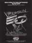 Captain EO Flyer Signed By Michael #2 (1986)