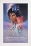 Captain EO Promo Poster Signed By Michael #2 (1986)