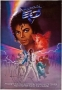 Captain EO Promo Poster Signed By Michael #1 (1986)