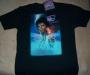 "Captain EO (2010 Disneyland Tribute) ""Movie One Sheet"" Black T-Shirt (USA)"