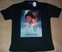 "Captain EO (2010 Disneyland Paris Tribute) ""Movie One Sheet"" Black T-Shirt *Mens Style* (France)"