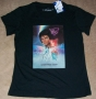 "Captain EO (2010 Disneyland Paris Tribute) ""Movie One Sheet"" Black T-Shirt *Girlie Style* (France)"