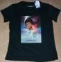 "Captain EO (2010 Disneyland Paris Tribute) ""Movie One Sheet"" Black T-Shirt *Girlie Style* (France)"