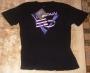 "Captain EO (2011 Disneyland Tribute) ""EO Logo"" Black T-Shirt (USA)"