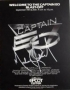 Captain EO Flyer Signed By Michael #1 (1986)