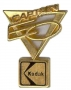 Captain EO Kodak Golden Shaped Lapel Pin (USA)