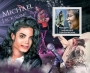 Central Africa 2012 Michael Jackson Souvenir Stamp Sheet