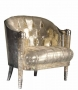 Chair In Metallic Leather Ordered By Michael For His Planned UK Home During This Is It Concerts (2009)