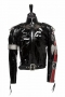 City Of Hope Gala Black Motorcycle Style Jacket Worn By Michael Jackson (1990)