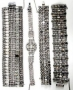 Collection Of Rhinestone Chain Bracelets (Date Unknown)