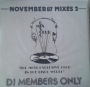 "DMC November 87 Mixes 2 12"" Single (UK)"