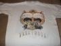 """Dangerous Album """"LP Graphics"""" Official White T-Shirt (Europe)"""