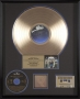 Dangerous RIAA Gold Record Award For The Sale Of 500,000 Copies Of The Album In USA