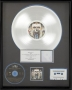 Dangerous RIAA Platinum Record Award For The Sale Of 1 Million Copies Of The Album In USA