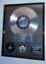 Dangerous RIAA Platinum Award for sales of 1 Million copies