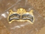 Dangerous Tour 1992 Official Black/Gold Lapel Pin (UK)