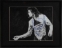 Dangerous Tour Black And White Print Of An Original Drawing Signed By Michael (1992)