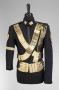 Dangerous Tour Black Jacket With Bandoliers Worn By Michael Jackson (1992)