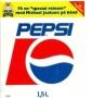 "Dangerous Tour/Pepsi ""Fa En 'Special Release' Med Michael Jackson Pa Band"" Promo Handbill (Denmark)"