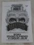 Dangerous Tour Rome July 4th, 1992 Concert Promo Leaflet  (Italy)