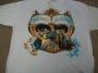 """Dangerous Tour """"LP Graphics"""" Official White T-Shirt (Europe)"""