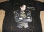 """Dangerous Tour """"Black Leather Jacket"""" Official Black T-Shirt (Europe)"""