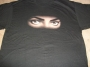 "Dangerous Tour ""MJ Eyes"" Official Black T-Shirt (Europe)"