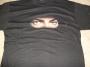 "Dangerous Tour ""MJ Eyes"" Official Black T-Shirt (Japan)"