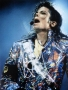 "Dangerous Tour ""Silver Jacket"" Photo Signed By Michael #3 (1992)"