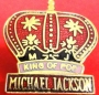 Dangerous Tour '92 Official *King Of Pop* Lapel Pin (Germany)