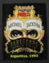 Dangerous World Tour Pepsi Promo Sticker (Argentina)
