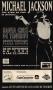 Dangerous World Tour '93 Live In Santa Cruz De Tenerife Promo Flyer (Spain)