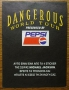 Dangerous World Tour Pepsi Promo Sticker #2 (Greece)