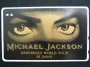 Dangerous World Tour In Japan Official Telephone Card (Japan)