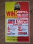Dangerous World Tour Pepsi/Daily Mirror Competition Flyer (UK)