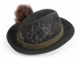 Dark Green Traditional German Hat Worn By Michael Jackson Backstage At The BAD Tour (1988)