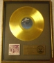 Destiny RIAA Gold Award For The Sale Of 500,000 Copies Of The LP Album In USA