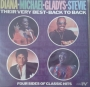 Diana/Michael/Gladys/Stevie *Their Very Best Back To Back* 2LP Album Set (UK)