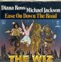 "Ease On Down The Road (Diana Ross/Michael Jackson) Promo 7"" Single (USA)"
